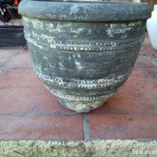 Antigüedades: *CERAMICA NEGRA. COSSI DE QUART. BARREÑO. (RF: BJ/D*). Lote 166633406