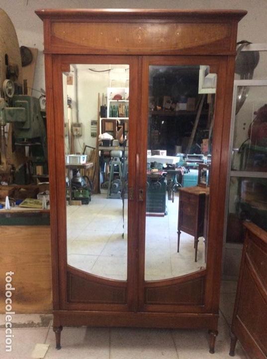 Antigüedades: Dormitorio de nogal - Foto 5 - 166634898