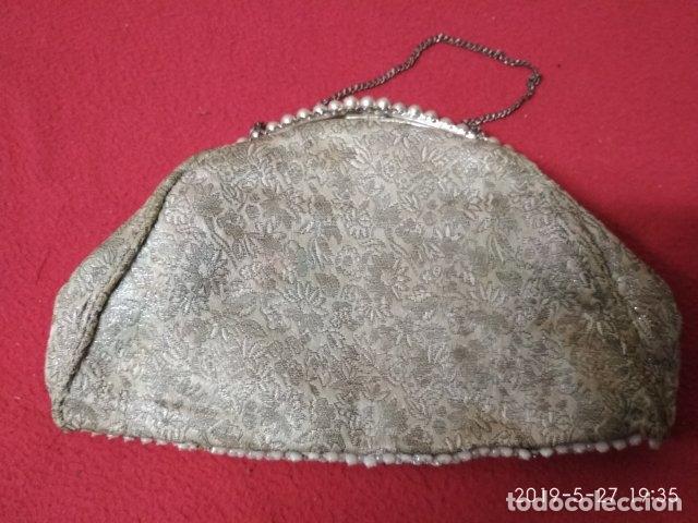 Antigüedades: ANTIGUO BOLSO VINTAGE - Foto 3 - 166638158