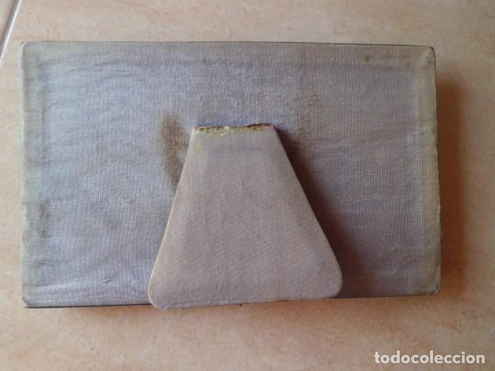 Antigüedades: MAGNIFICO PORTAFOTOS DOBLE AÑOS 40 - Foto 3 - 166641482