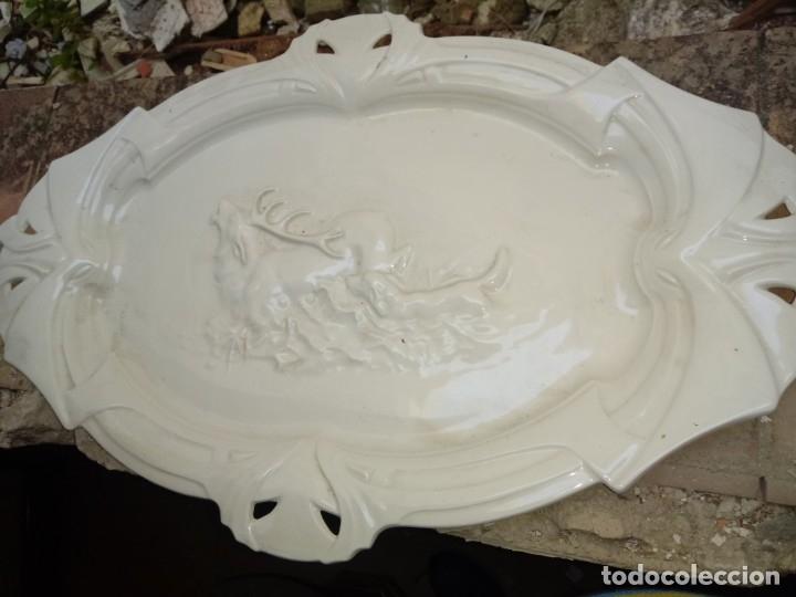Antigüedades: bandeja grande la catuja pickman - Foto 9 - 166660058