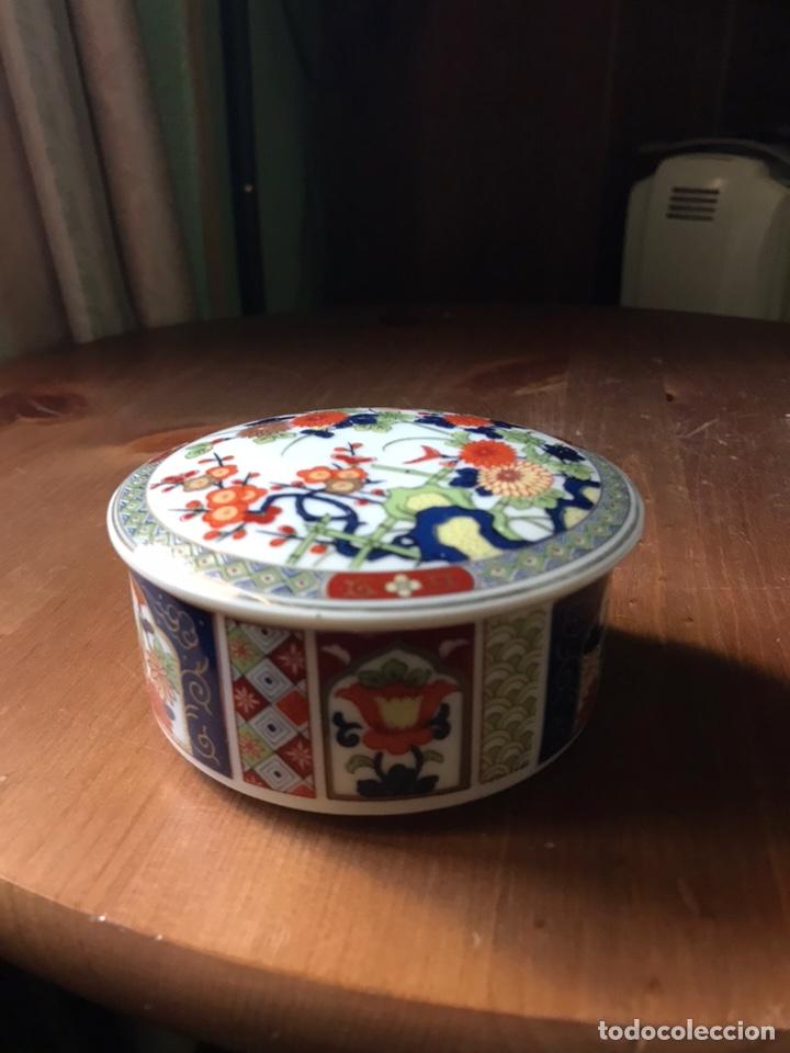 CAJA DE PORCELANA CHINA ANTIGUA (Antigüedades - Porcelanas y Cerámicas - China)