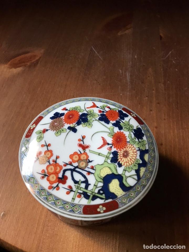 Antigüedades: Caja de porcelana China antigua - Foto 2 - 166676293