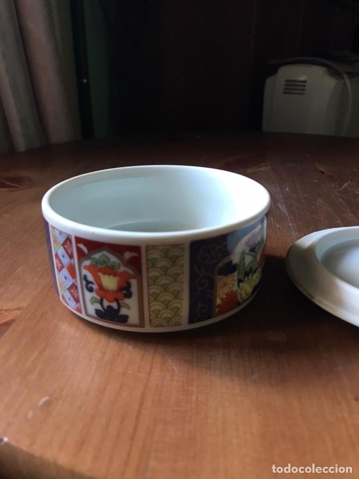 Antigüedades: Caja de porcelana China antigua - Foto 9 - 166676293