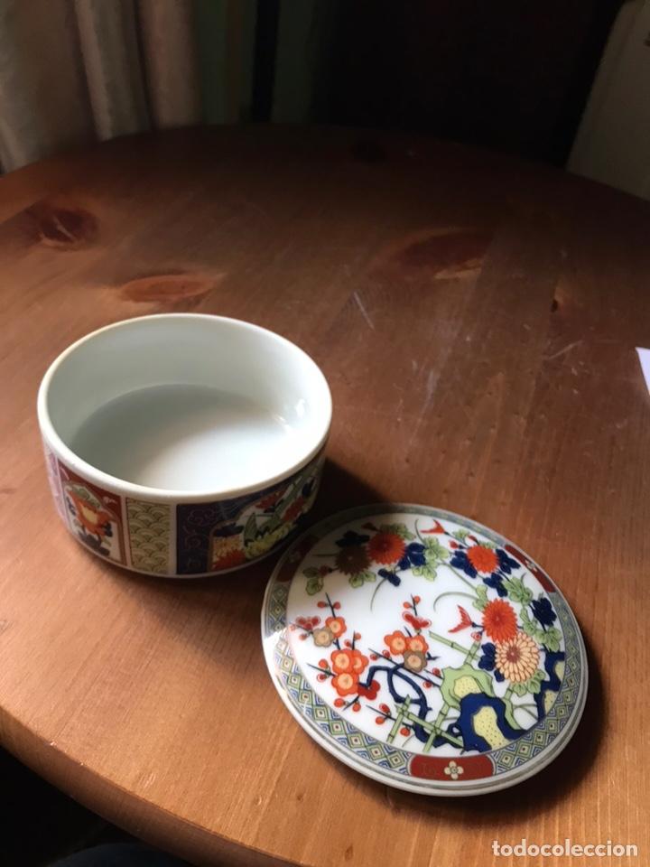 Antigüedades: Caja de porcelana China antigua - Foto 5 - 166676293