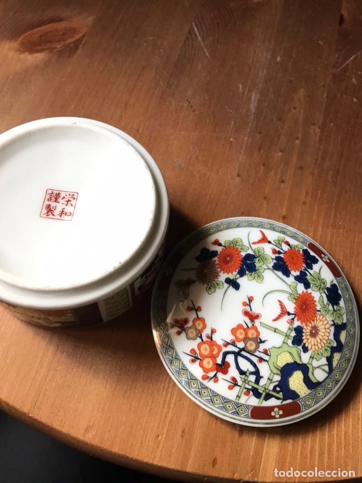 Antigüedades: Caja de porcelana China antigua - Foto 7 - 166676293