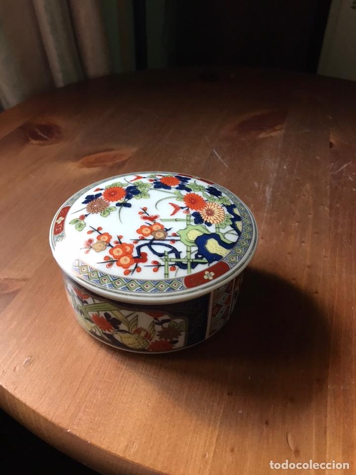 Antigüedades: Caja de porcelana China antigua - Foto 8 - 166676293