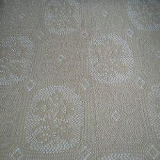 Antigüedades: LOTE 2 COLCHAS PARA CAMA DE 90 CM. Lote 166677690