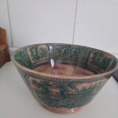 Antigüedades: ESPECTACULAR CUENCO SARGADELOS SERIE GONDOLA. Lote 166705486