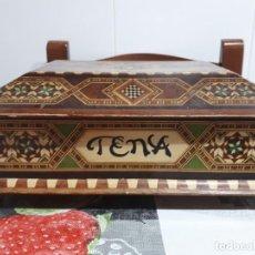 Antigüedades: ANTIGUA CAJA GRANADINA. Lote 166713410