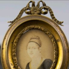 Antigüedades: MINIATURA FRANCESA S.XIX. Lote 166722578