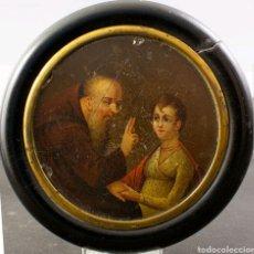 Antigüedades: MINIATURA FRANCESA S.XIX. Lote 166726045