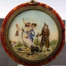 Antigüedades: MINIATURA FRANCESA S.XIX. Lote 166726194