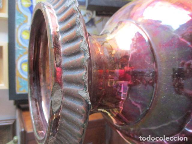 Antigüedades: Jarron de Reflejos ceramica de Triana - Foto 2 - 166734098