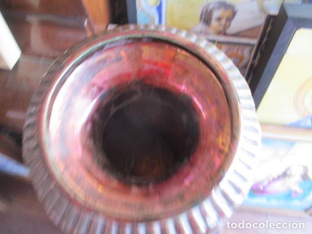 Antigüedades: Jarron de Reflejos ceramica de Triana - Foto 3 - 166734098