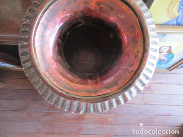 Antigüedades: Jarron de Reflejos ceramica de Triana - Foto 4 - 166734098