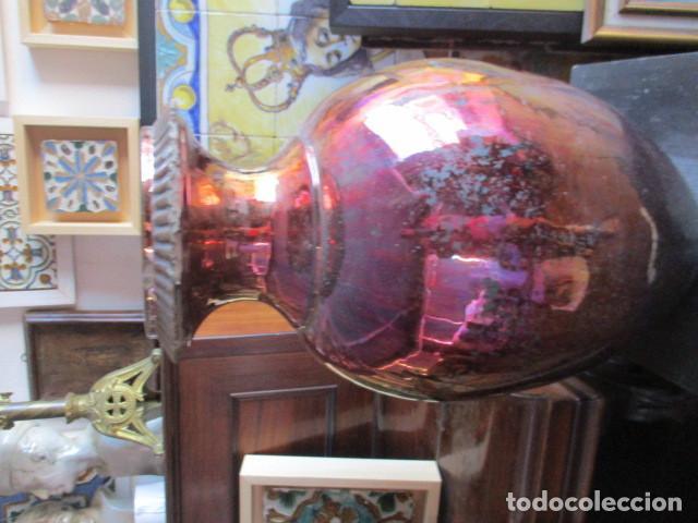 Antigüedades: Jarron de Reflejos ceramica de Triana - Foto 8 - 166734098
