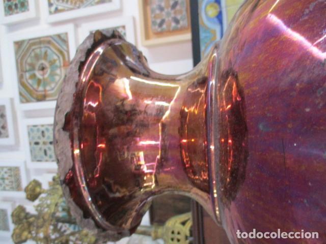 Antigüedades: Jarron de Reflejos ceramica de Triana - Foto 10 - 166734098
