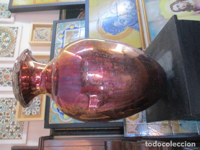 Antigüedades: Jarron de Reflejos ceramica de Triana - Foto 14 - 166734098