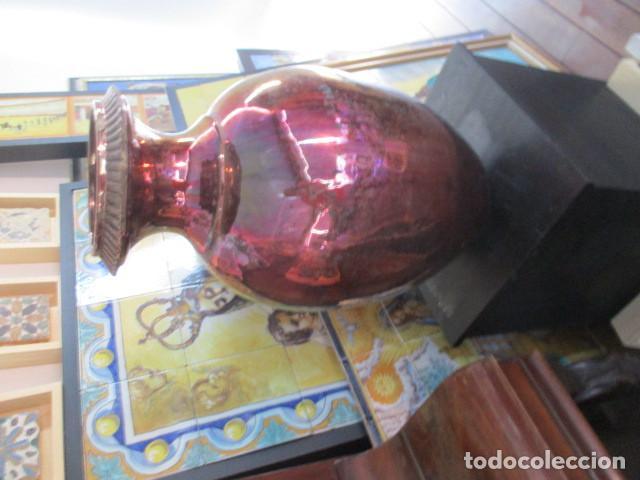 Antigüedades: Jarron de Reflejos ceramica de Triana - Foto 15 - 166734098
