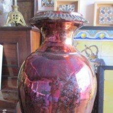 Antigüedades: JARRON DE REFLEJOS CERAMICA DE TRIANA. Lote 166734098
