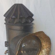 Antigüedades: ANTIGUO FAROL CARRO. Lote 166765069