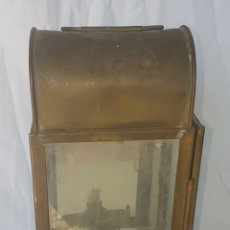 Antigüedades: ANTIGUO FAROL LATON. Lote 166766676
