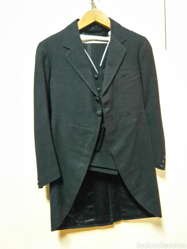 ANTIGUO TRAJE CHAQUET 1900 , VERGARA, MADRID (Antigüedades - Moda y Complementos - Hombre)