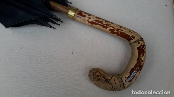Antigüedades: Paragua antiguo - Foto 3 - 166785250