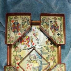 Antigüedades: JUEGO DE CARTAS. EL ENANO AMARILLO.. Lote 166786398