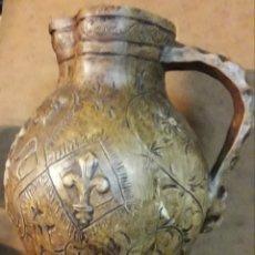 Antigüedades: ANTIGUA JARRA DE CERAMICA DE ANTONIO PEYRO. Lote 166808926
