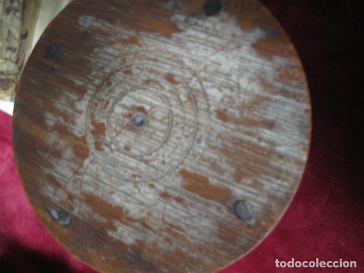 Antigüedades: RARO RELOJ DE ARENA. S.XVIII o XIX. EN PERFECTO ESTADO. 17 CM DE ALTO Y 8,5 CM DE DIAMETRO - Foto 6 - 166816198