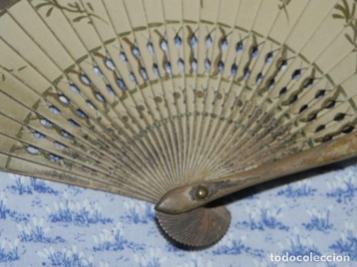 Antigüedades: Vendo Abanico años 50 muy decorativo pintado a mano - Foto 5 - 103379339