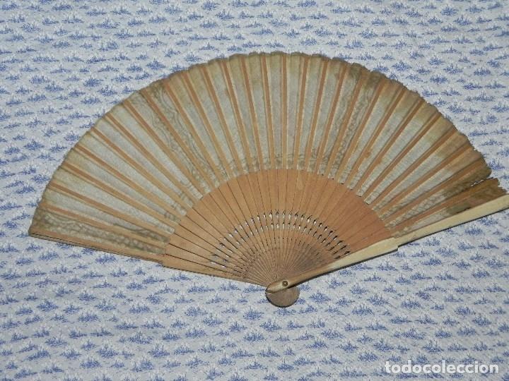 Antigüedades: Vendo Abanico años 50 muy decorativo pintado a mano - Foto 8 - 103379339