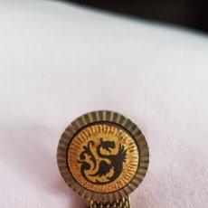 Antigüedades: PRECIOSO GEMELO SUELTO DAMASQUINADOS TOLEDANO EN MUY BUEN ESTADO. Lote 166829625