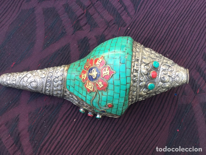 CARACOLA TIBETANA (Antigüedades - Varios)