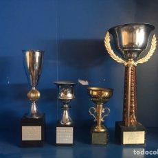 Antigüedades: LOTE DE TROFEOS ANTIGUOS. Lote 166875689