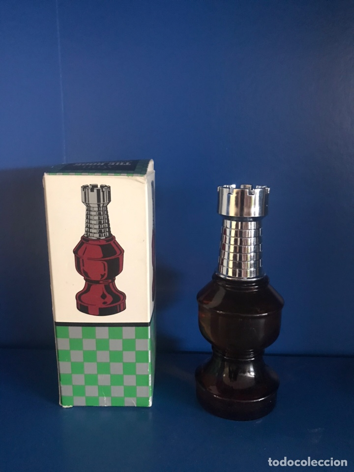 AVON THE ROOK CHESS PIECE SPICY AFTER SHAVE (Antigüedades - Moda - Otros)