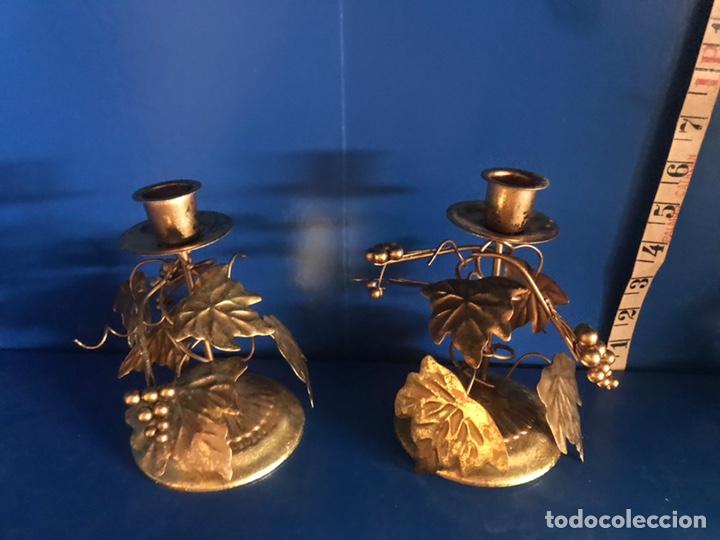Antigüedades: Lote de porta velas - Foto 2 - 166878094