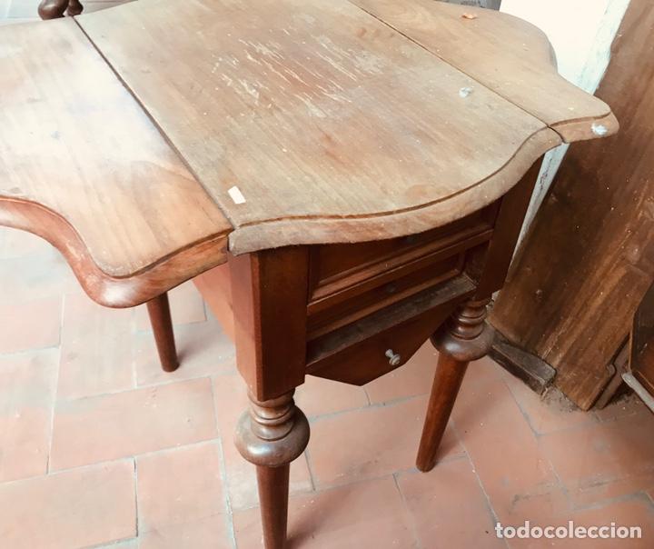 Antigüedades: Costurero de Caoba ,siglo XIX. - Foto 2 - 166884758