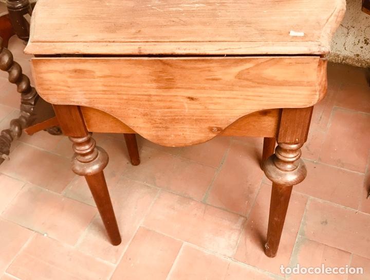 Antigüedades: Costurero de Caoba ,siglo XIX. - Foto 3 - 166884758