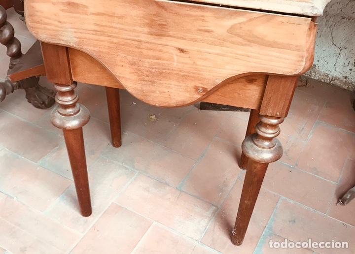 Antigüedades: Costurero de Caoba ,siglo XIX. - Foto 4 - 166884758