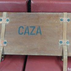 Antigüedades: FUNDA PARA RIFLE DE CAZA. Lote 166889354