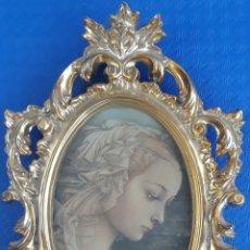 Antigüedades: PORTAFOTOS OVALADO. Lote 166891968