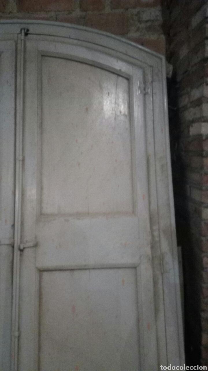 Antigüedades: PUERTA ANTIGUA CON MARCO / RECOGIDA A CARGO DEL COMPRADOR - Foto 3 - 166893701