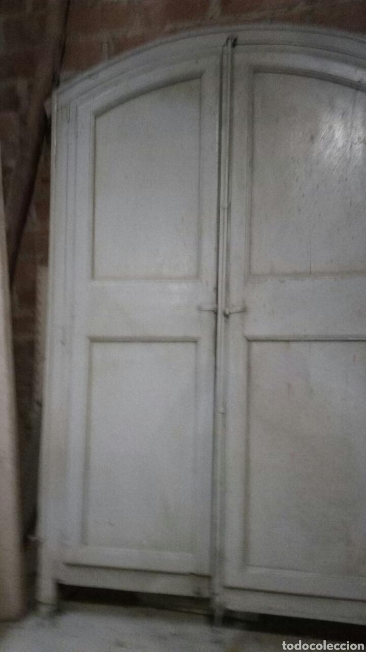 Antigüedades: PUERTA ANTIGUA CON MARCO / RECOGIDA A CARGO DEL COMPRADOR - Foto 4 - 166893701