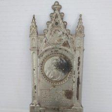 Antigüedades: BENDITERA SAGRADO CORAZÓN. Lote 166896284