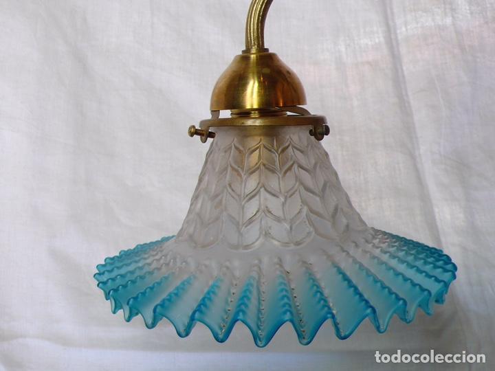 Antigüedades: Lámpara de techo de bronce - Foto 3 - 166899512