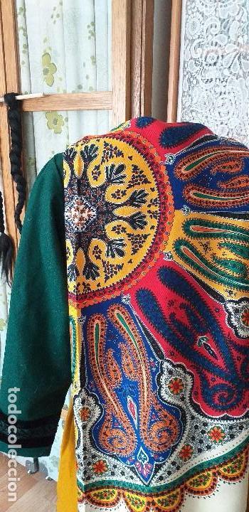 Antigüedades: mantón o pañuelo indumentaria folclore - Foto 4 - 166900140