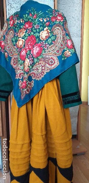 Antigüedades: mantón o pañuelo indumentaria folclore - Foto 2 - 166900640